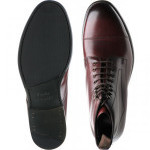 Loake Hirst rubber-soled boots