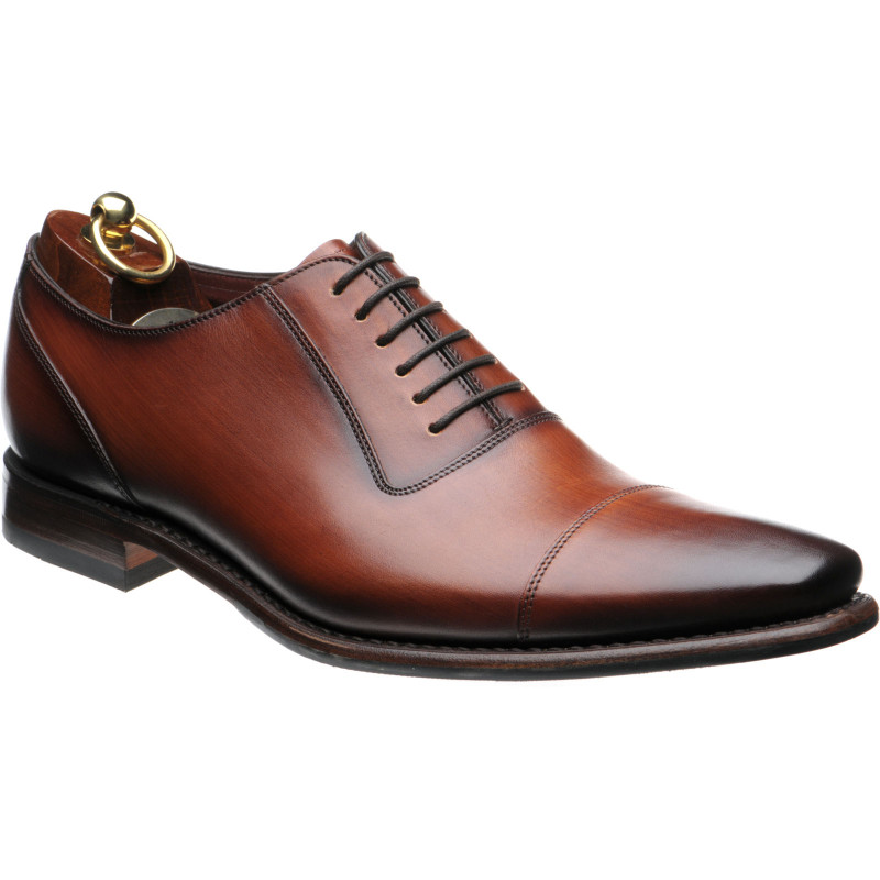 Larch rubber-soled Oxfords