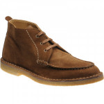 Loake Daniels rubber-soled boots