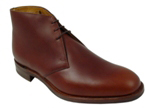 Loake Kempton. Rubber sole in Brown