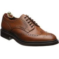 loake badminton 2 in mahogany grain