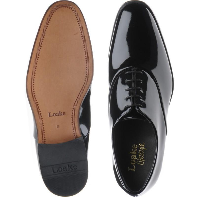 Loake shoes   Loake Lifestyle   Patent