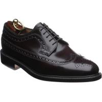 loake royal in burgundy polished