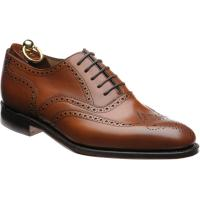 loake buckingham in brown calf
