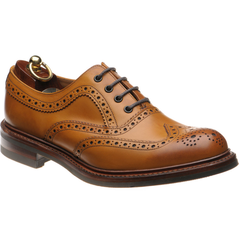 Loake Edward rubber-soled brogues