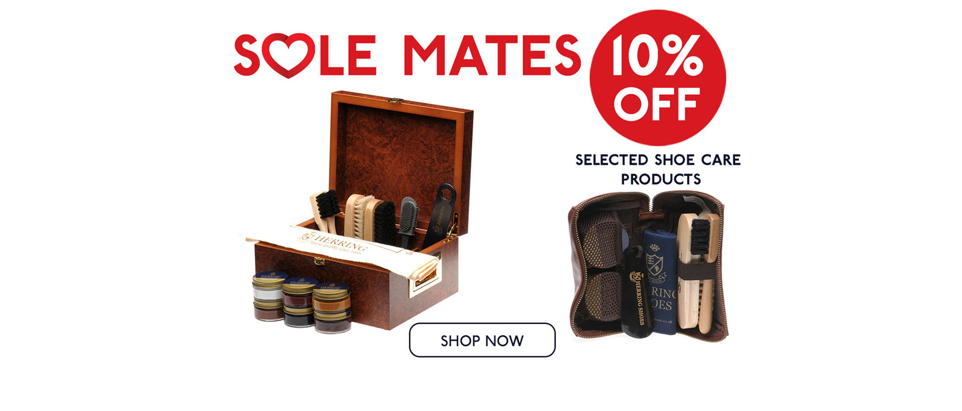 10% off selected products this February
