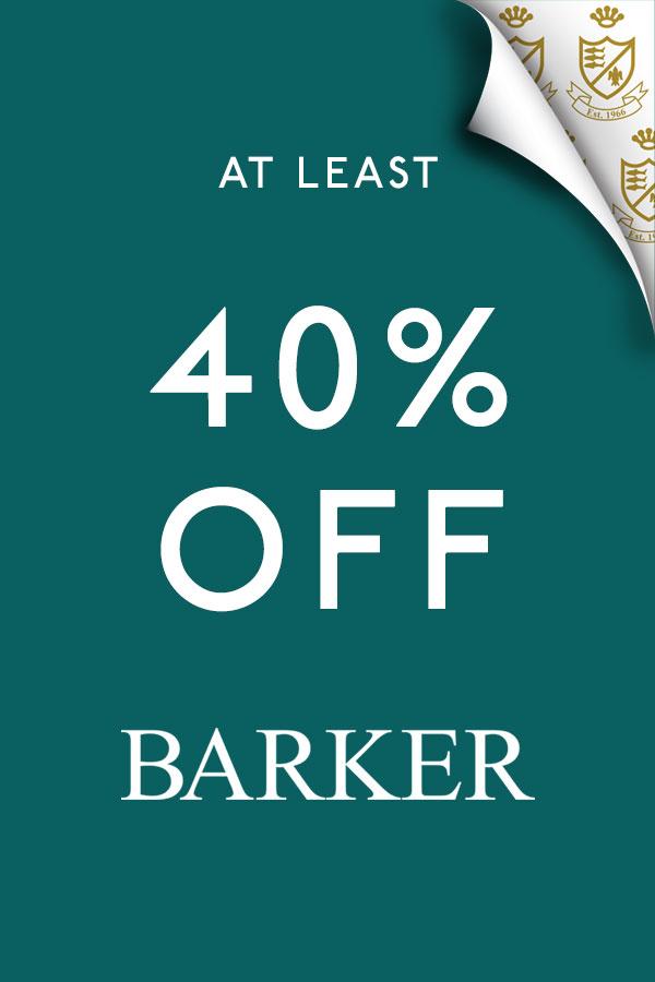 Barker sale now 40% off