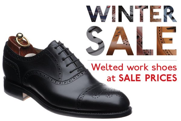 Black Work Shoes on Sale