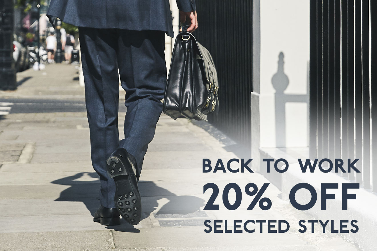 Back to work 20% off