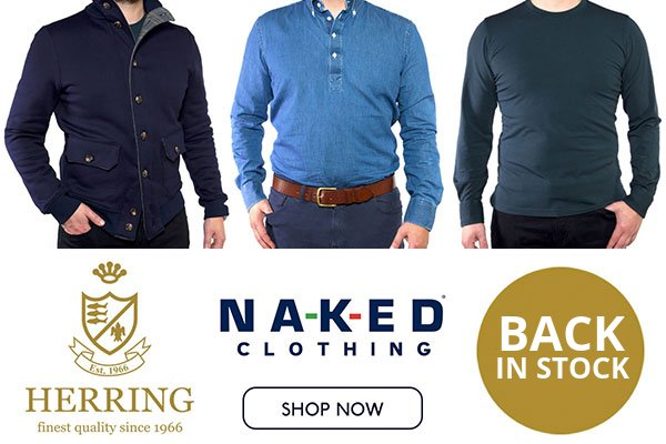 Naked Clothing - back in stock