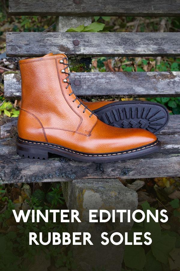 Winter ready footwear