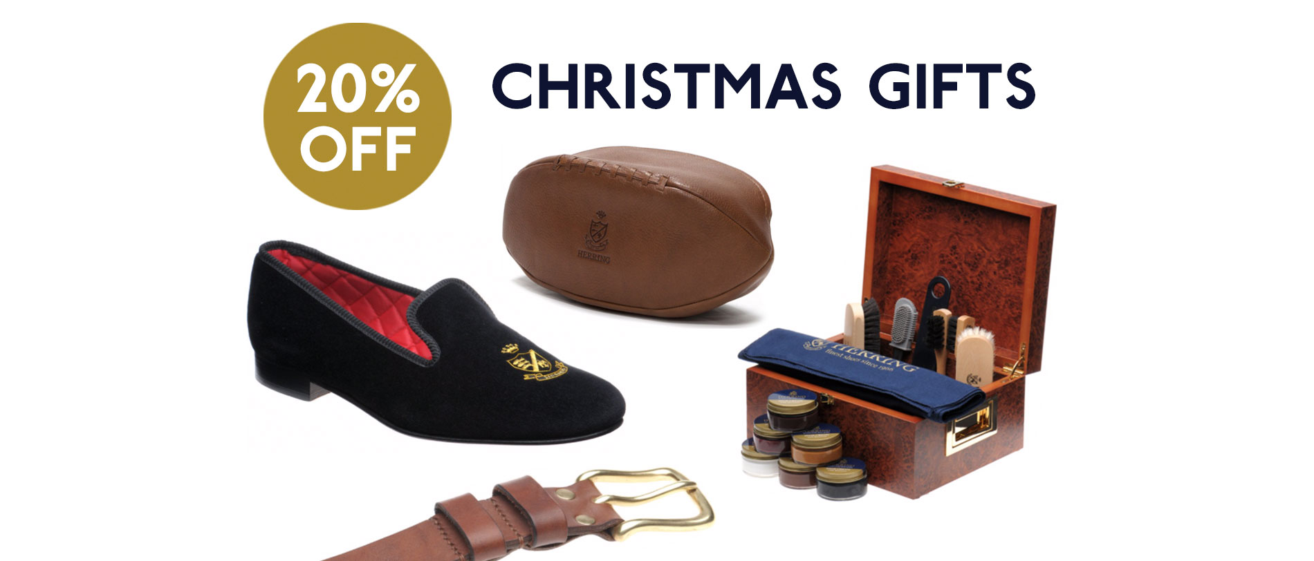 20% off our Christmas Gift List