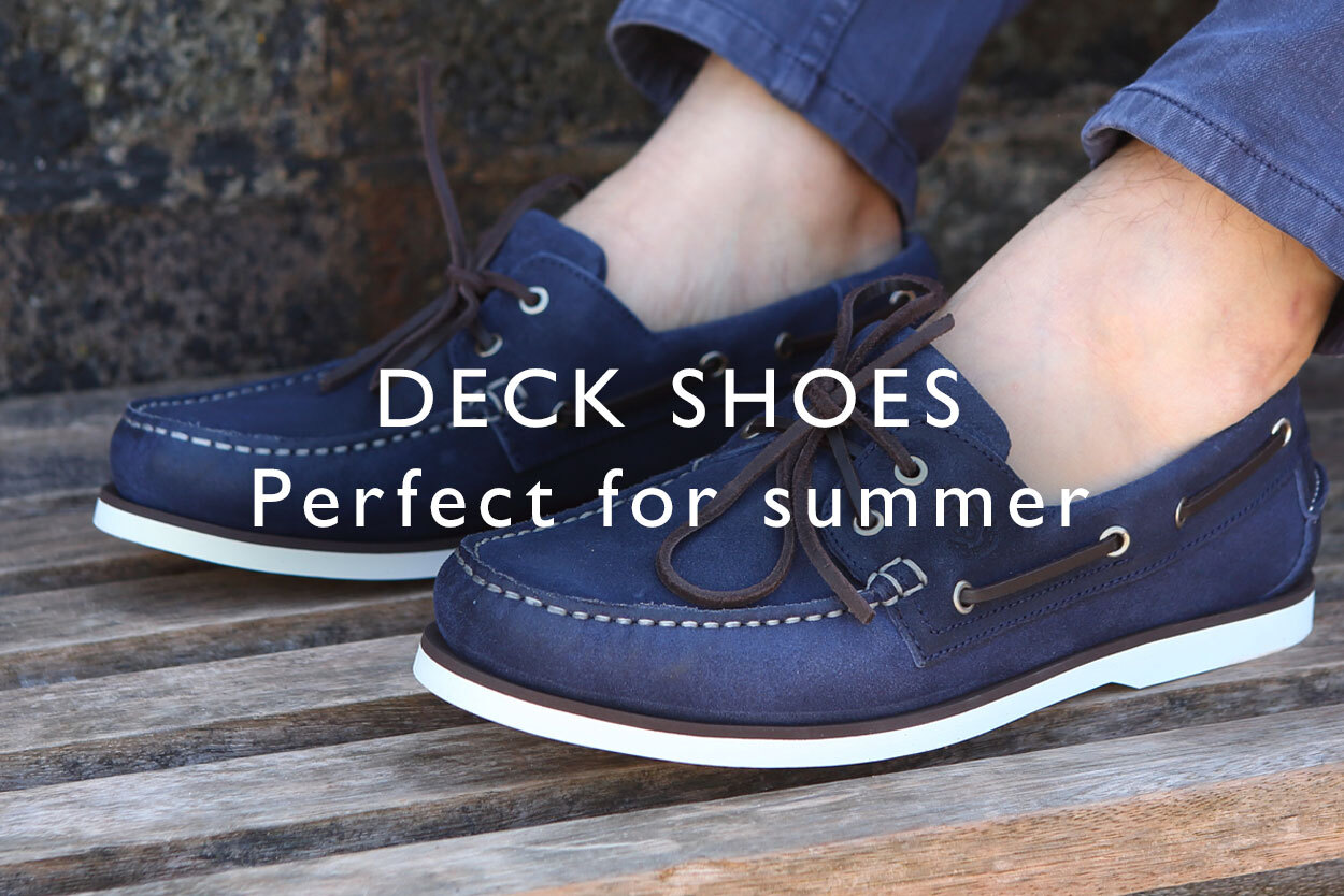 Deck shoes - perfect for summer