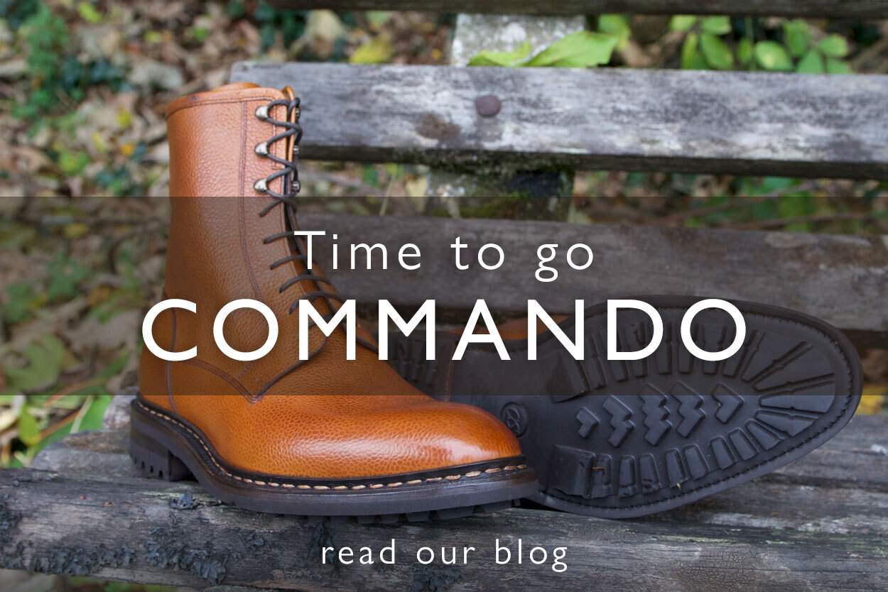 Read our commando sole blog