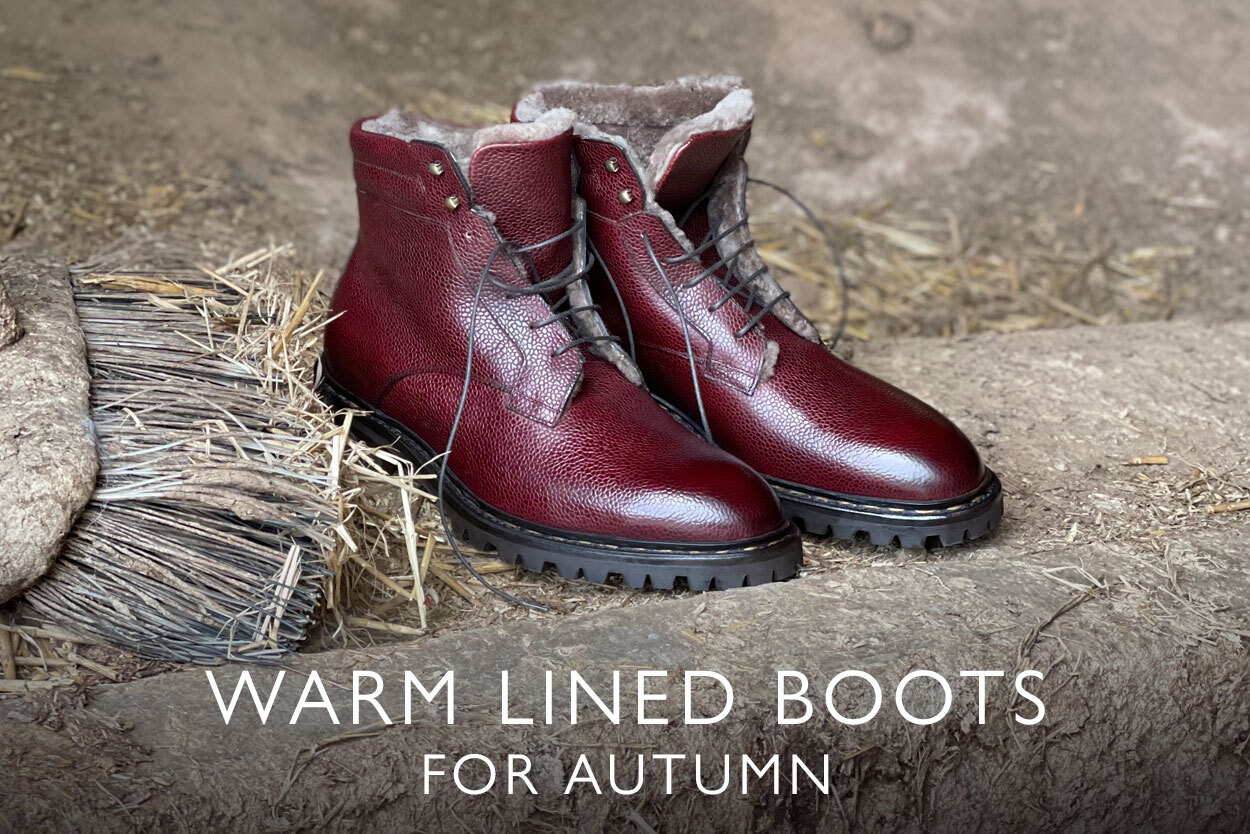 Warm boots for autumn