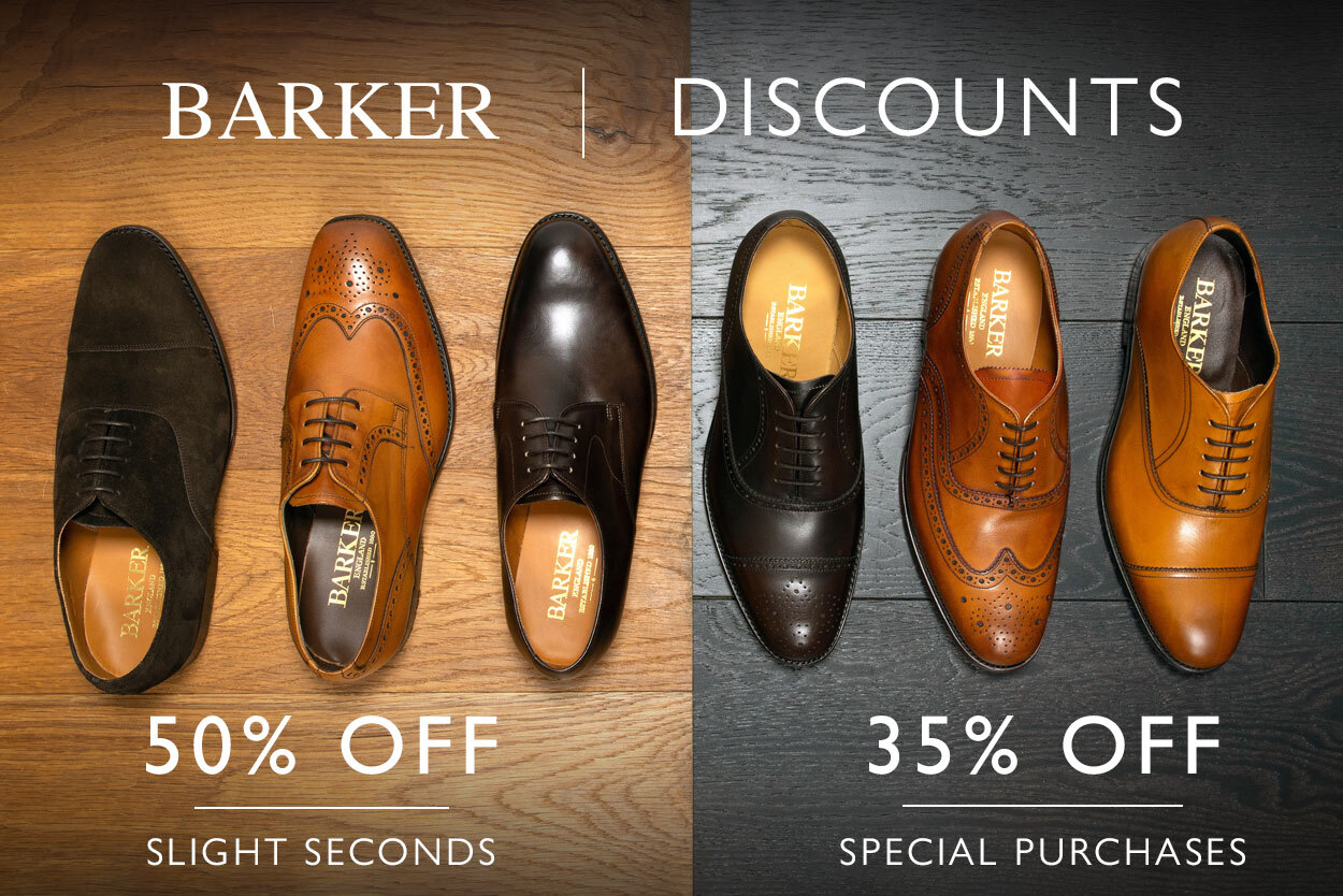 Barker Factory Seconds and Special Purchase Offer