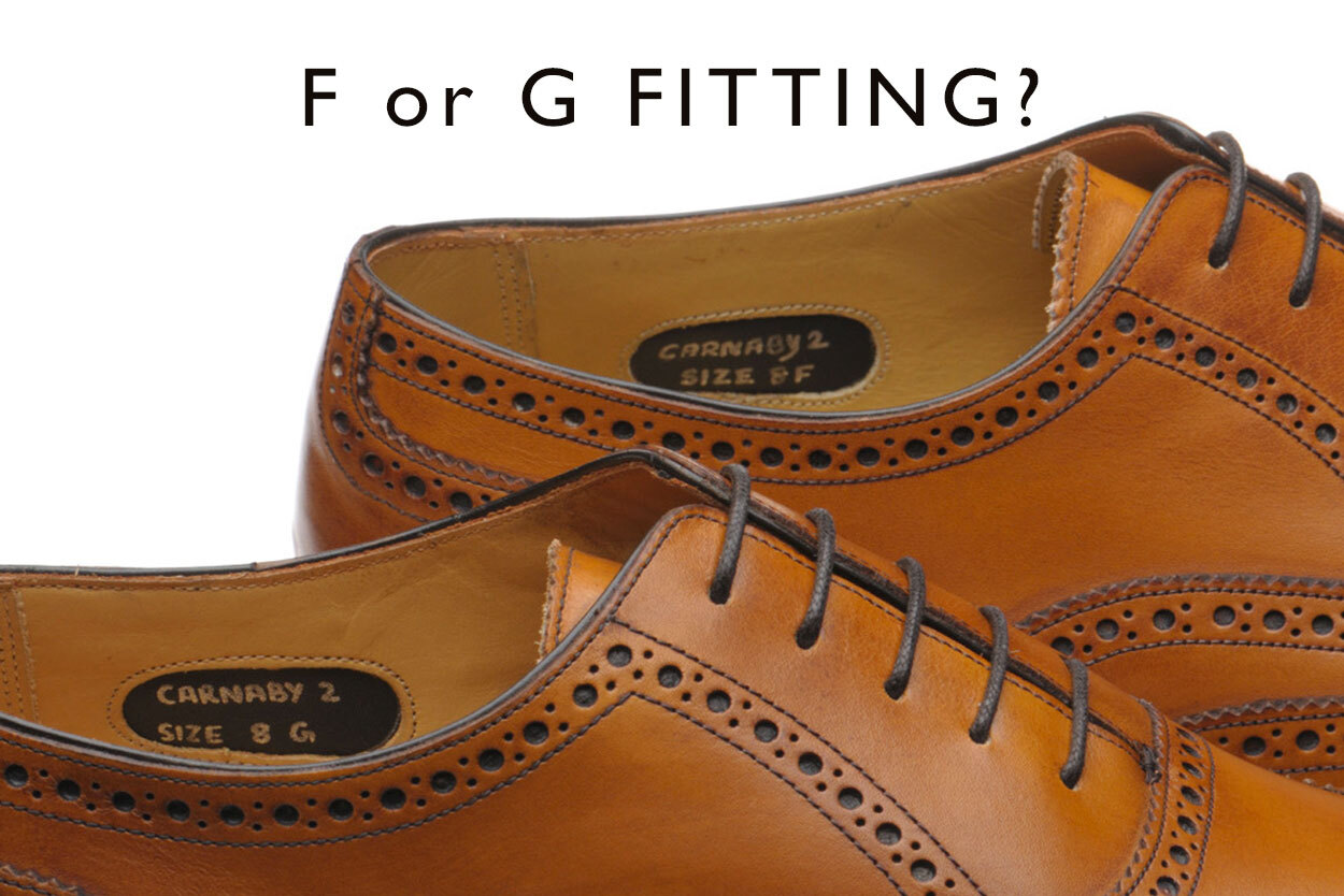 Read our blog entry on F fits and G fits