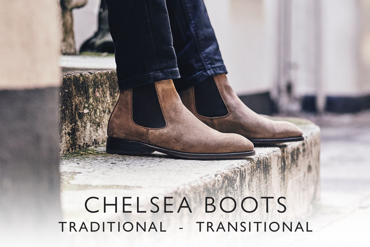 Chelsea boots - transitional and traditional