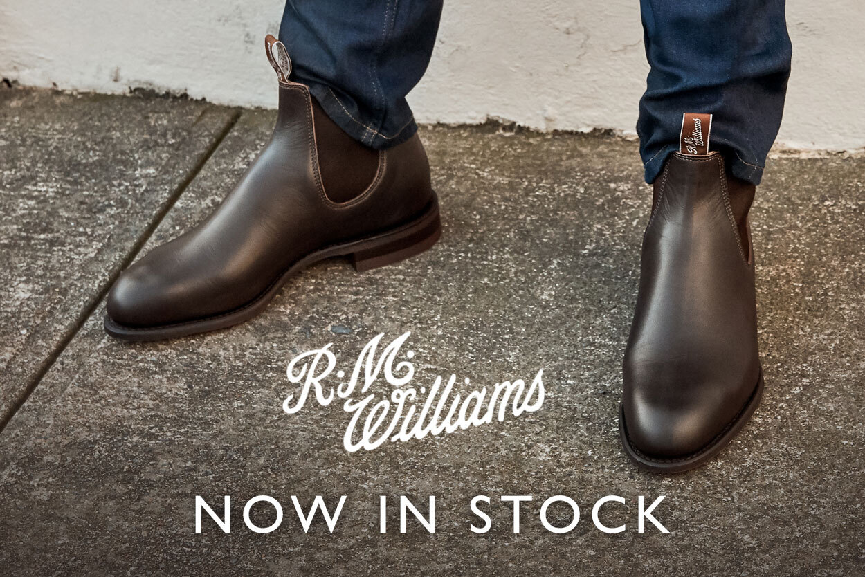New Brand RM Williams