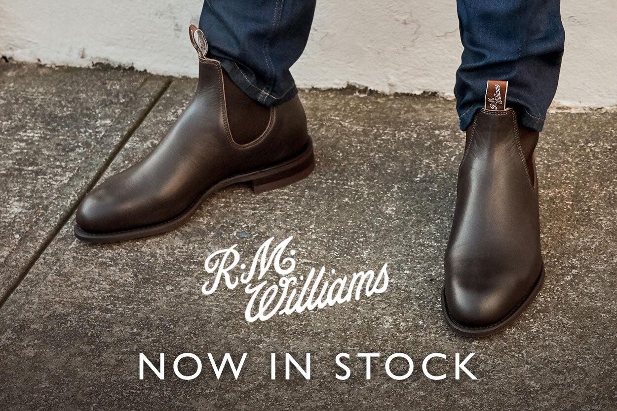 New Brand RM Williams
