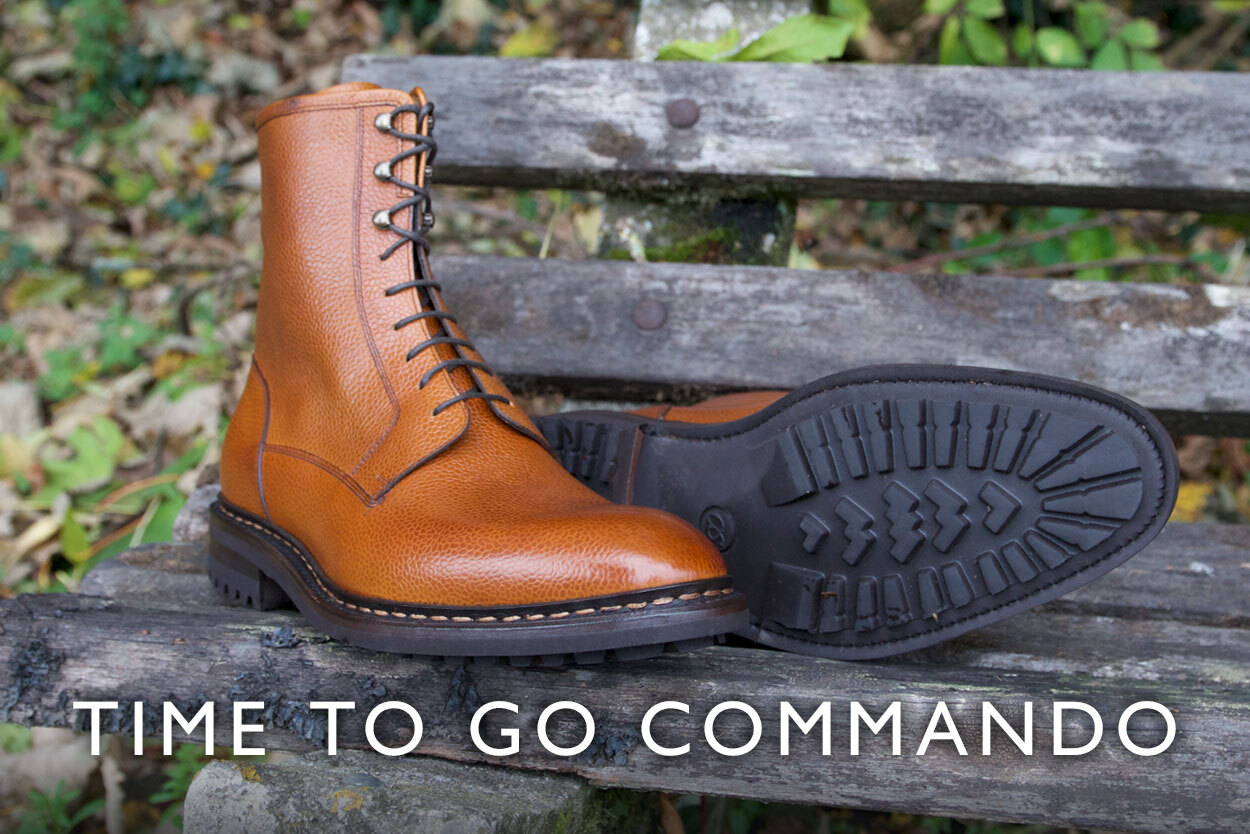 Read our commando sole blog
