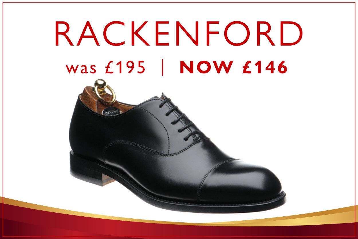 Black Shoe Bargain: Rackenford