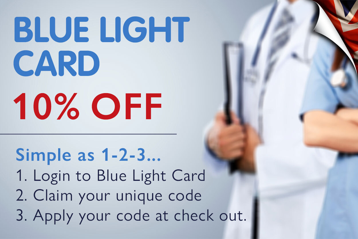 Blue Light Discount Available Here