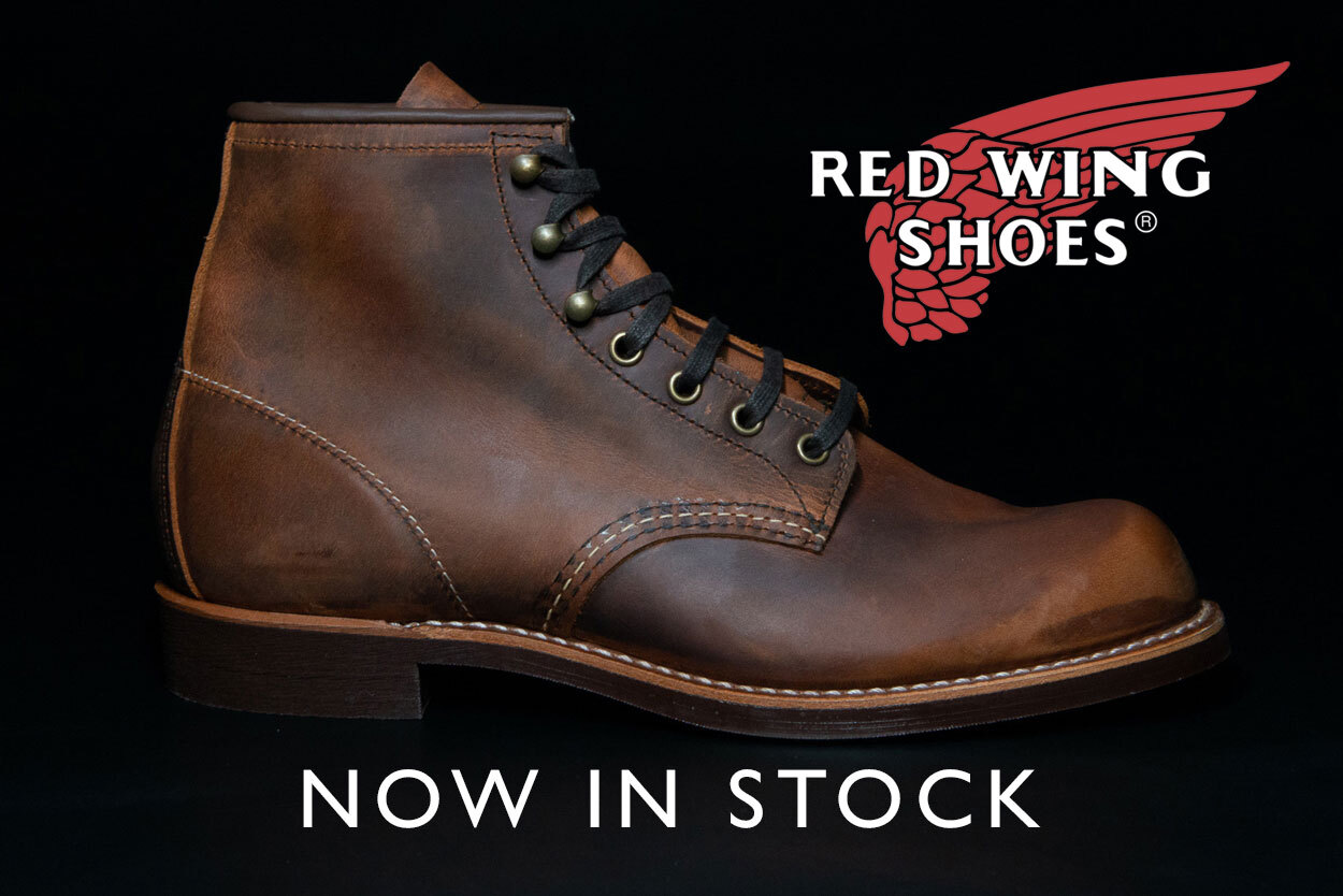 Red Wing shoes now available here