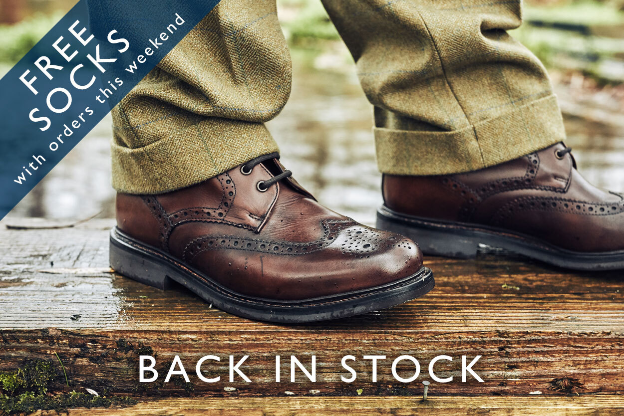 Buxton Boot back in stock