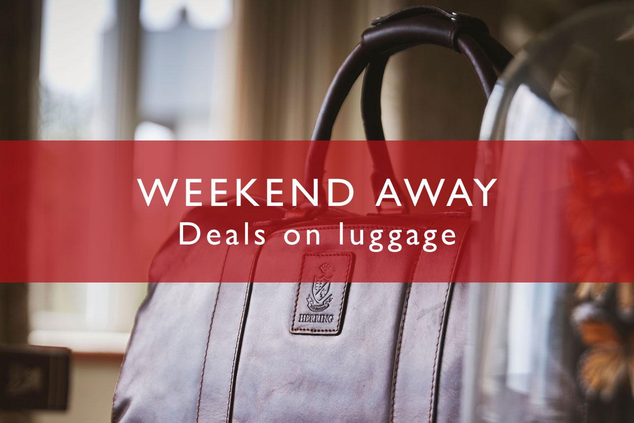 Weekend Away - Sale Luggage