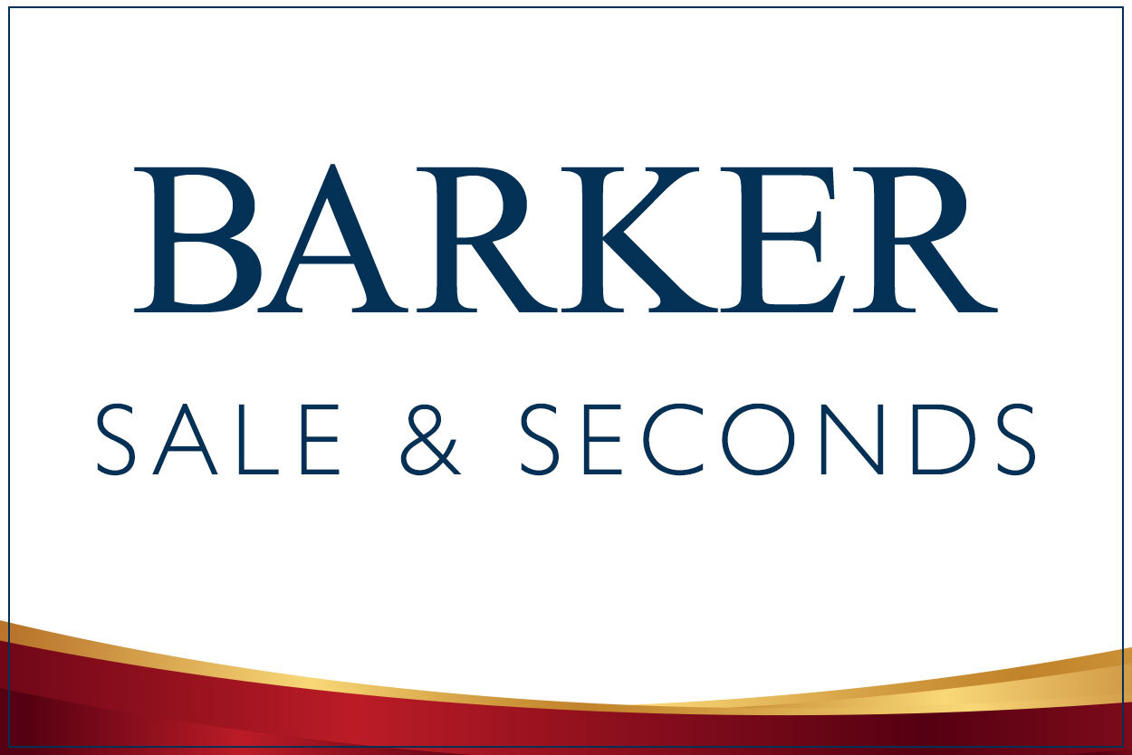 Barker Sale and Seconds