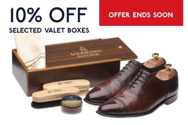 10% off selected valet boxes