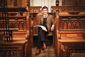 Gareth Malone OBE in Herring Shoes