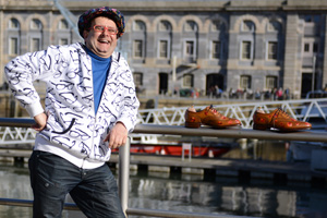 Timmy Mallett in Herring Shoes