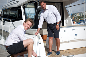 Richard at Trafford Yachts in Herring Shoes