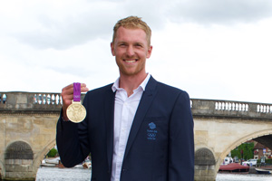 Alex Gregory MBE