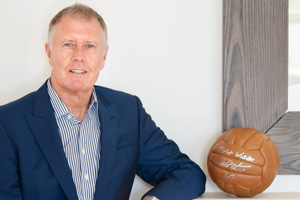 Sir Geoff Hurst MBE in Herring Shoes