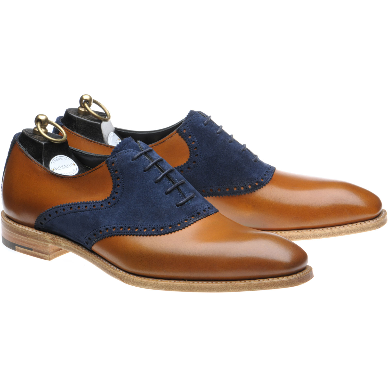 Wildsmith Harrison two-tone shoes